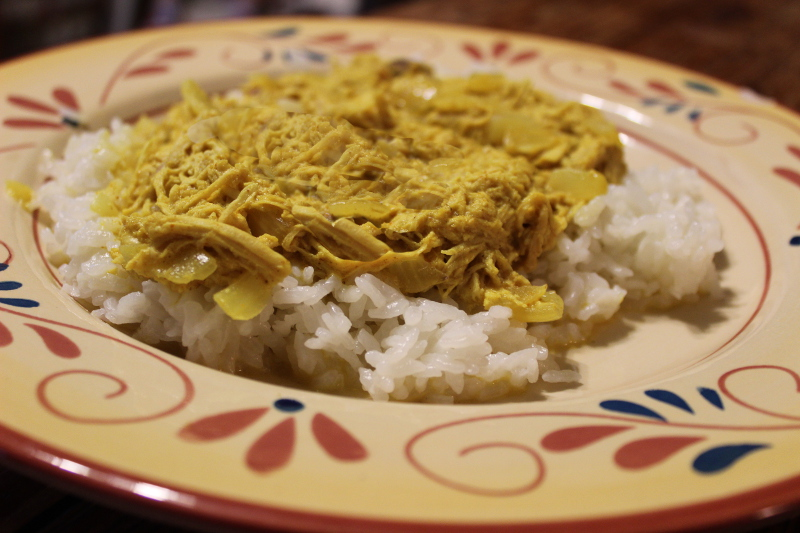 Mom's Awesome Curry Chicken