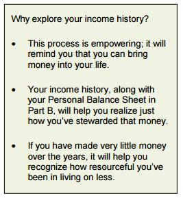Why explore your income history?